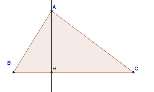 Trực tâm của tam giác là gì