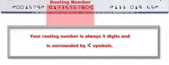 Routing number là gì
