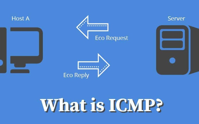 Networking — loại gói icmp là gì? tcp hoặc udp