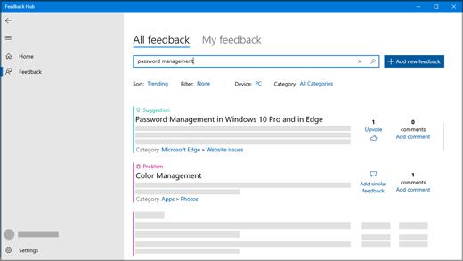 Feedback hub là gì