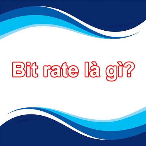 Data rate là gì