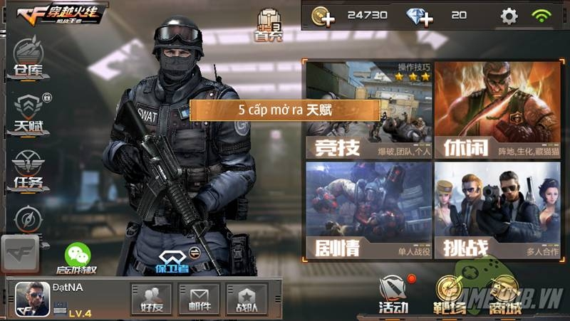 Tải game crossfire mobile