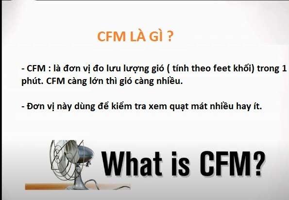 Cfm là gì