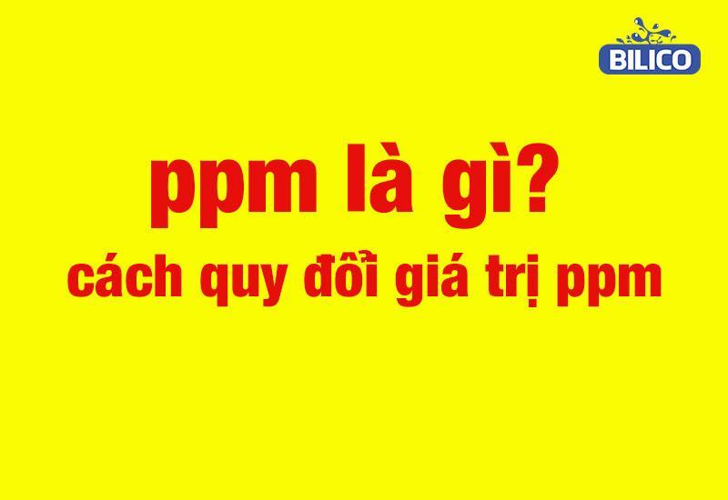 Ppb là gì