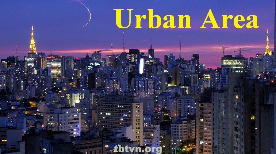 Khu đô thị tiếng anh là gì