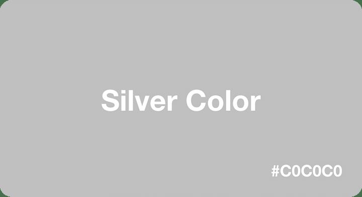 Silver là gì