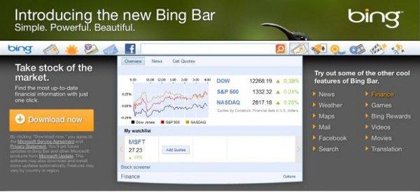 Bing bar là gì
