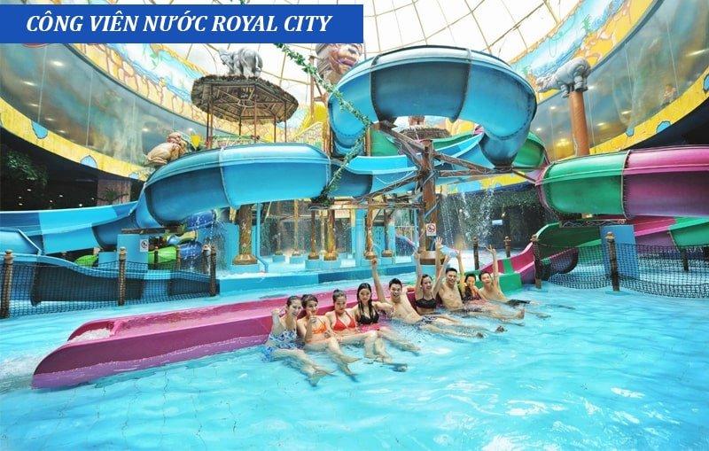 Giá vé bể bơi royal city