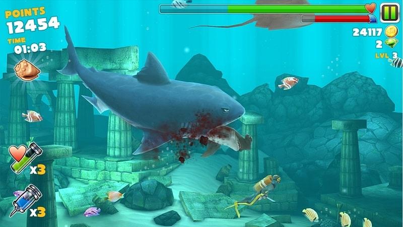 Tải game hungry shark hack