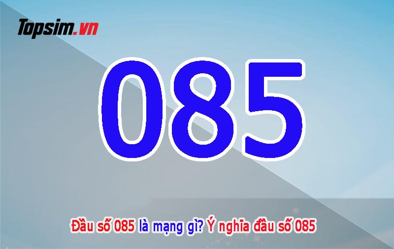 085 là mạng gì