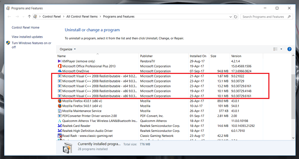 Microsoft visual c++ 2015 là gì