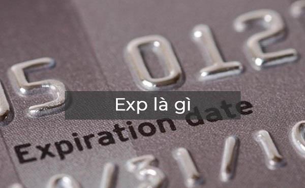 Expiration date là gì