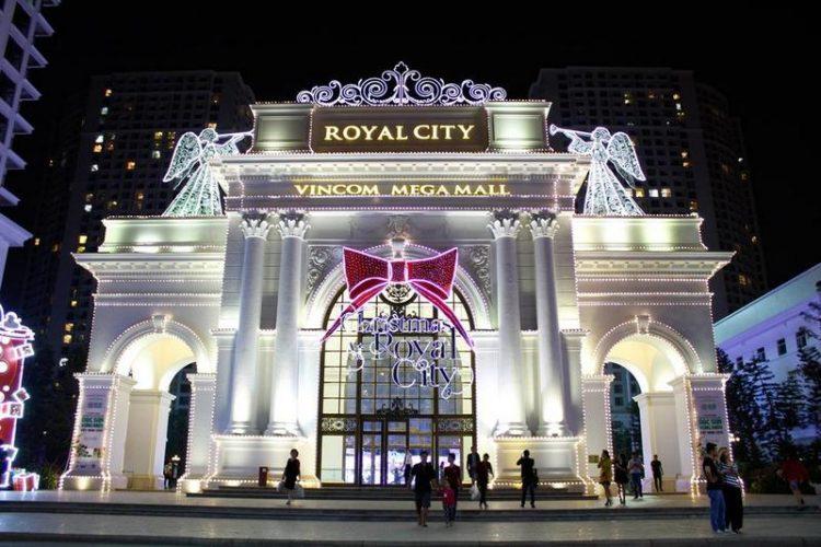Khu vui chơi royal city hà nội