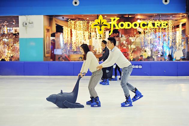 Trượt băng ở royal city