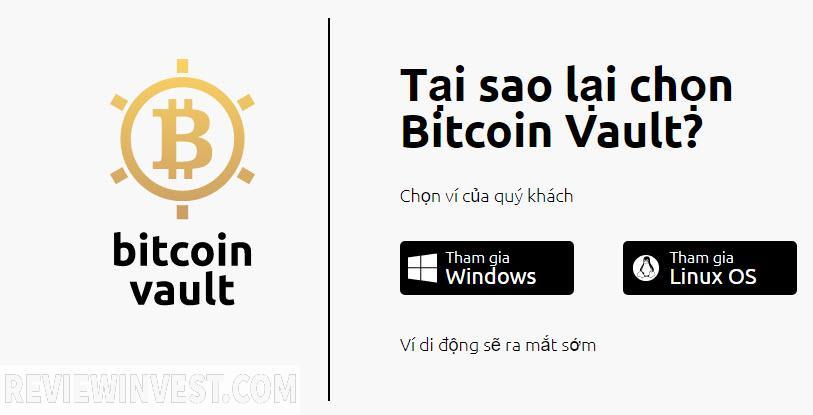Bitcoin vault là gì