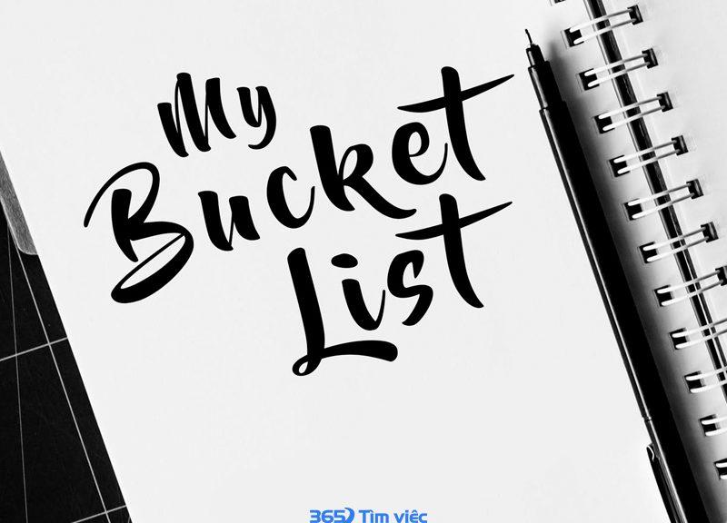 Bucket list là gì