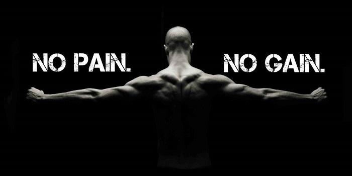 No pain no gain là gì