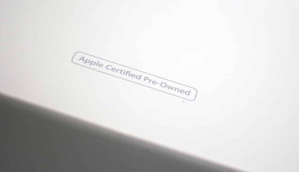 Iphone certified pre-owned là gì