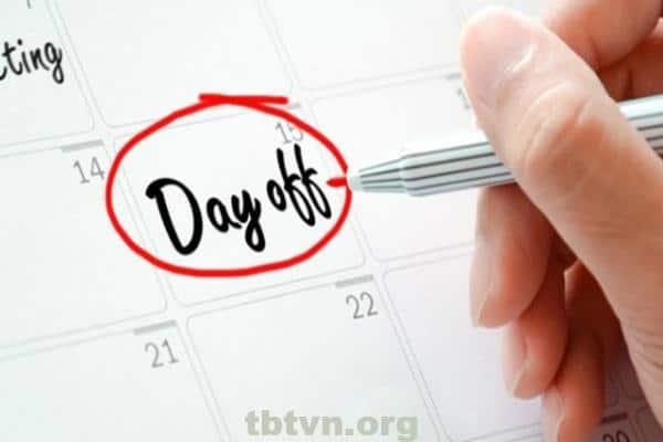 Ngày phép tiếng anh là gì