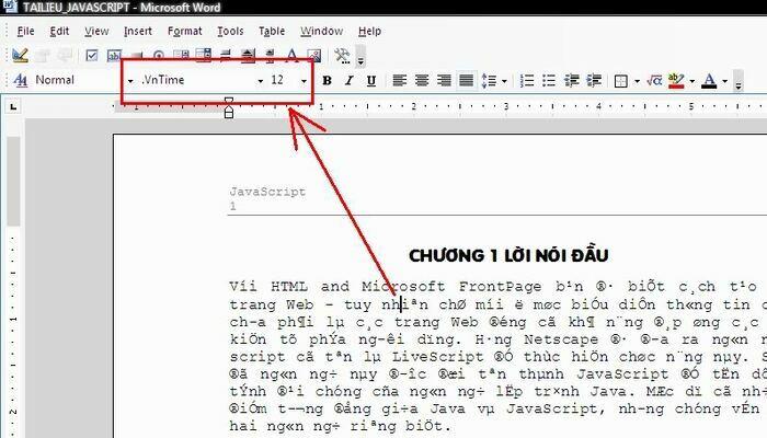 Cách sửa lỗi font chữ trong word 2010