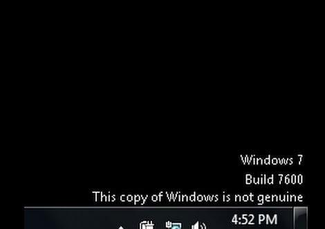 Sửa lỗi windows is not genuine