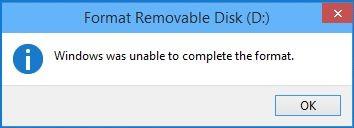 Sửa lỗi không format được usb