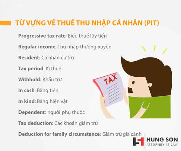 Thuế thu nhập cá nhân tiếng anh là gì