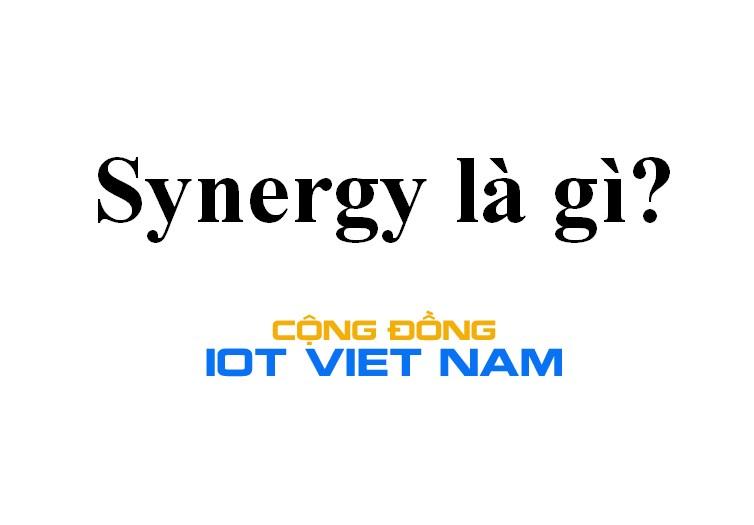 Synergy là gì