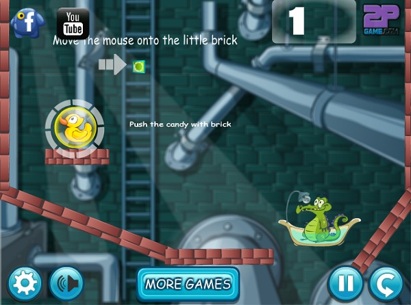 Download game cho cá sấu tắm