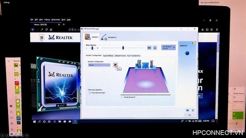 Realtek high definition audio driver là gì
