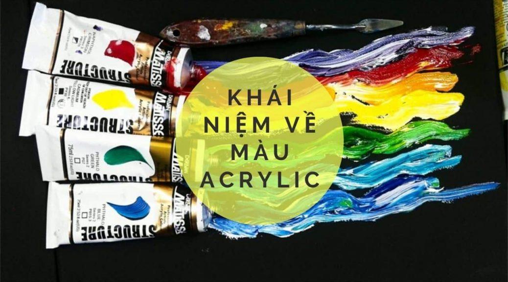 Acrylic paint là gì